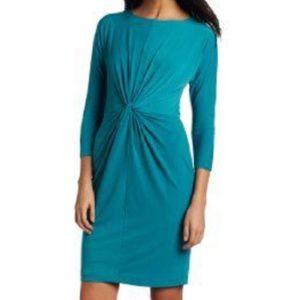 NWT Donna Morgan 3/4 Dolman Sleeve Knot Dress S 12